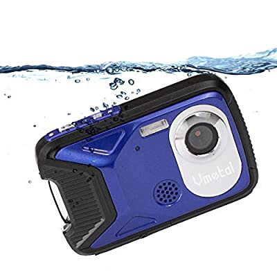 Waterproof Digital Camera Full HD 1080P Underwater Camera 16 MP Underwater Camcorder with 1050MAH Rechargeable Battery Point and Shoot Camera DV Recording Waterproof Camera for Snorkeling by SHENZHEN GAODI DIGITAL CO., LTD.