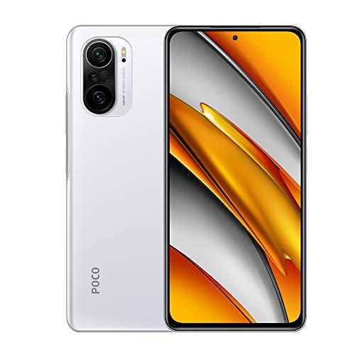 Xiaomi Poco F3 Smartphone,8GB 256GB Teléfono Móvi 5G,Qualcomm Snapdragon 870,Dos Altavoces Dolby Atmos,DotDisplay AMOLED de 6,67',One-Click IA Cinema,Global Versión(Blanco)