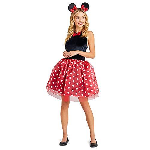 Disney Déguisement Minnie avec tutu rouge adulte - rouge - femmes X-Small