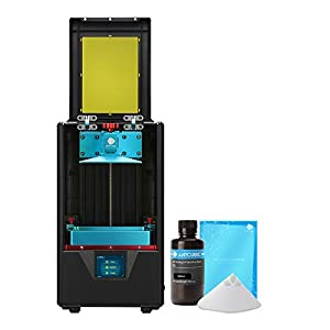 ANYCUBIC Photon S UV Photocuring 3D Printer, Ultra Precision LCD Masking Technology 2K Screen 405nm Matrix UV Light Z-axis Dual Linear Rail Printing