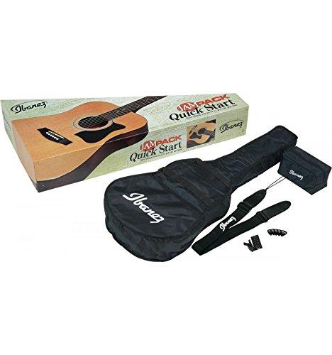 Pack Guitarra Acústica Ibanez v50njp–Jam Pack–Natural–Stock B