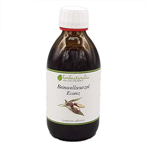 herbnaturalia ® Beinwell Essenz - 250ml hochwertige Essenz aus getrockneten Beinwellwurzeln - 100{75cdcf62f379e2b9b03b8f04d645507694f83c4ad4e9b401f798ba6060e0855f} reine Essenz - Ohne Zusätze