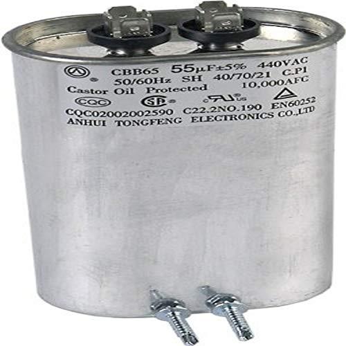 Zodiac R3001201 55/440 Kompressor Kondensator Ersatz Jandy Air Energy AE-Ti AE2000 Pool und Spa Wärmepumpe