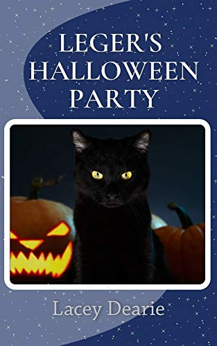 Leger's Halloween Party: A Halloween Cat Sleuth Story (The Leger Cat Sleuth Mysteries Book 42) by [Lacey Dearie]