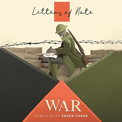 Letters of Note: War audiobook cover art