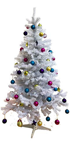 Homegear 6FT 700 Tips Artificial White Christmas/Xmas Tree