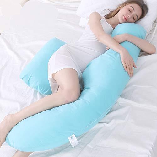 Almohada De Embarazo Almohadas De Maternidad En Forma De H-Forma De La Almohada Para Dormir Para Personas Embarazadas Cojín De Apoyo Para Las Almohadillas De Apoyo Para Los Durmientes Laterales