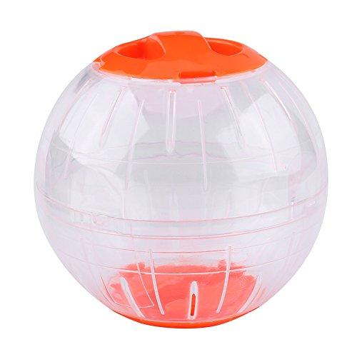 12cm neue Art und Weiseplastikkleine Haustier-Hamster-Gerbil-Spielzeug-laufende Tätigkeits-Übungs-Kugel (Farbe : Red)