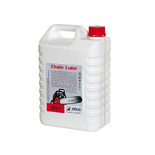 Aceite ecológico cadena motosierra EFCO CHAIN LUBE 5 l