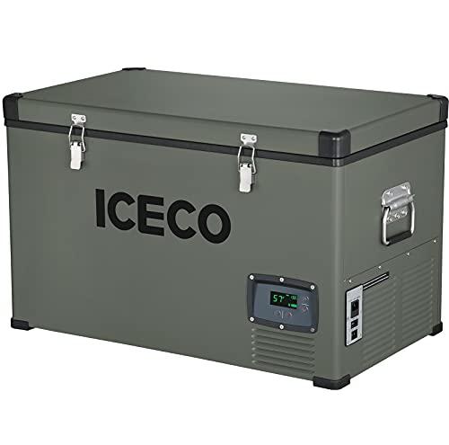 ICECO VL74 Single Zone Portable Refrigerator with...