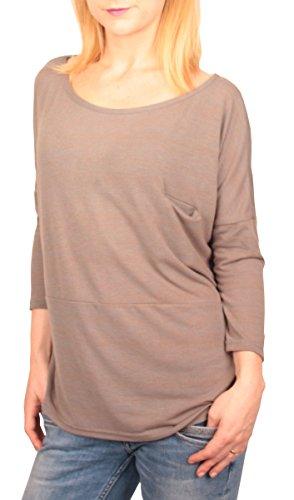 Ella Manue Jana oversize shirt met lange mouwen voor dames