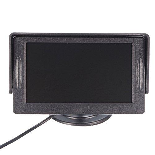 Viviance ZHVICKY 4,3-inch auto-TFT-LCD-monitor parkeren achteruitrijcamera opname VCR zonwering kit