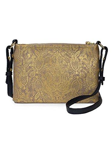 Papaya': Wonder bolso bandolera, bolso bohemio de doble compartimento, bolso mensajero para mujer pequeño