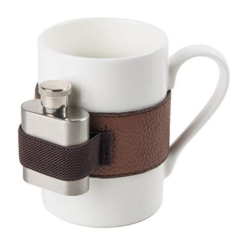 Spralla Tasse mit Mini-Flachmann