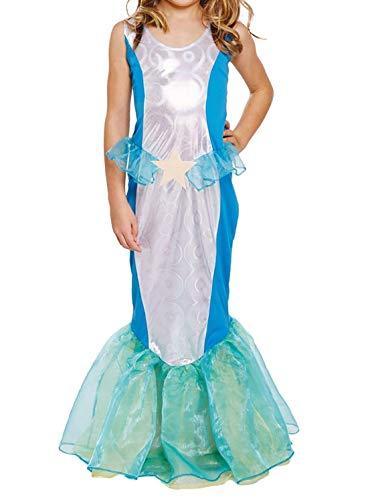 Sirène de Déguisements âge de costume de la mer fille 10-11 ans
