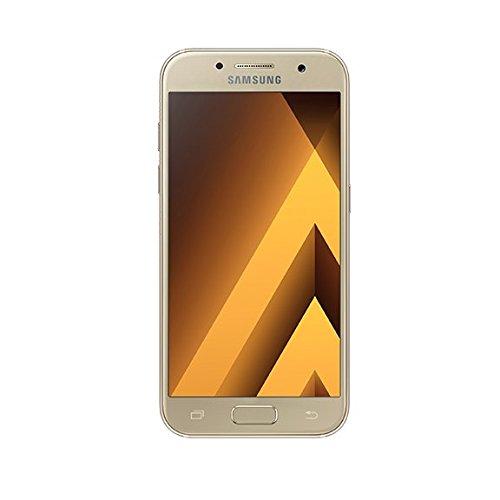 Samsung Galaxy A3 2017 Smartphone, Oro, 16GB espandibili, [Versione Italiana]
