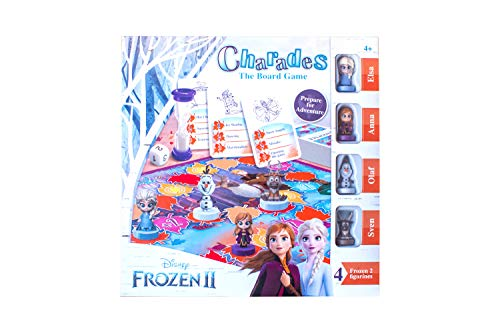 Disney Frozen 2 Family Board Game Charades Kids Age 4,5,6,7 Years Old