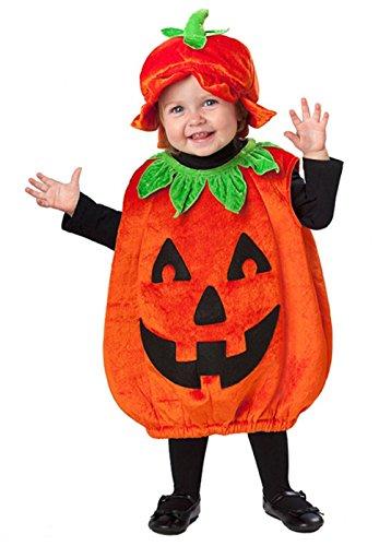 Taille bébé Halloween Costume Pumpkin