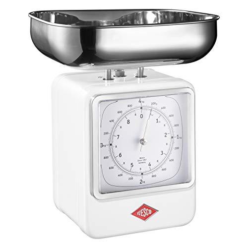 Wesco 322 204-01 Küchenwaage, weiß