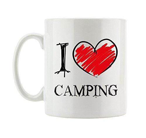 I love Camping Fun Tasse