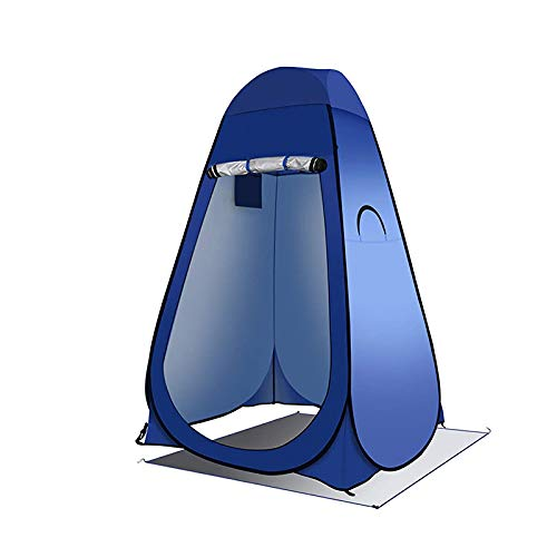 Privacy Outdoor Shower Pop-up tent | Portable Shelters for Camping, Beach, Changing Room, Fishing, Shower, Toilet with Carrying Bag | Upgraded Privacy Tent with Rain Cover and Removable Mat