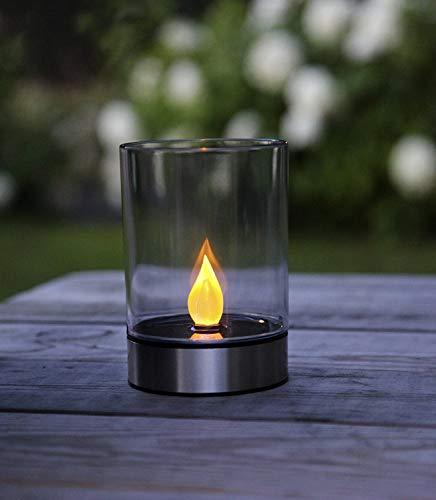 Kamaca – Elegante y Decorativa lámpara LED Solar/Farol