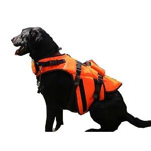 Outback Jack Dog Life Jacket by Hyper Pet, Orange, X-Small
