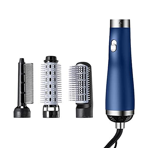 Secador de pelo (750 W, 3 cabezales de peinado, tecnología Supercare para resultados de peinado duraderos, cuidado de iones de baja temperatura), color azul