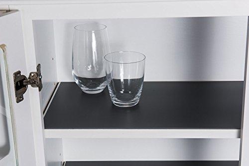 "Sterling Shelf Liners Rigid Non-Adhesive Shelf Liner, Base Cabinet (2PK) : 22.385"" X 34.31"