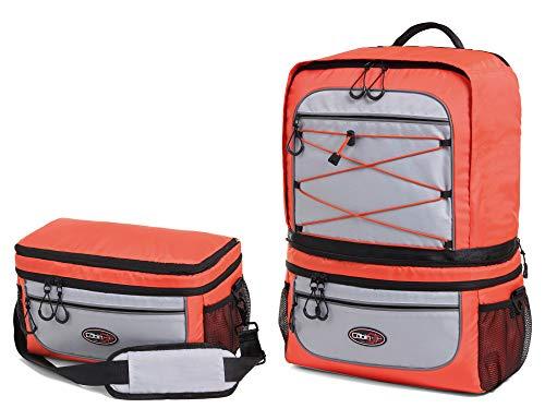 Cabin Go MAX 5565 - Zaino Trasformabile in Borsa 2 in 1 – Zaino da Cabina 55x40x20 e Bagaglio a Mano Borsa a Tracolla...