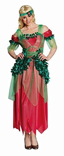 4U-Onlinehandel 13916-42 Blätterfee Gr. 42 Fasching Karneval Kostüm Verkleidung Mottoparty Kleid, Multi-Colored