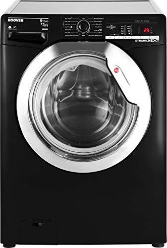 Hoover Dynamic Next WDXOA496CB 9Kg / 6Kg Washer Dryer with 1400 rpm - Black / Chrome