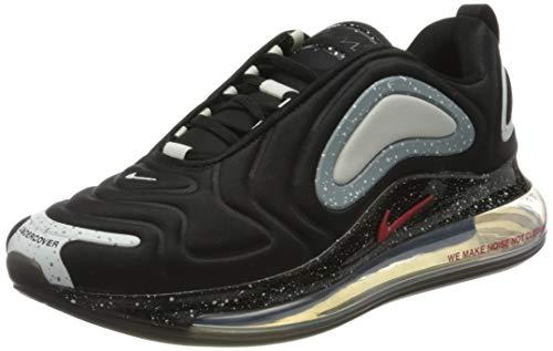 Nike Air MAX 720 / Undercover, Zapatillas para Correr para Hombre, Black University Red, 42 EU
