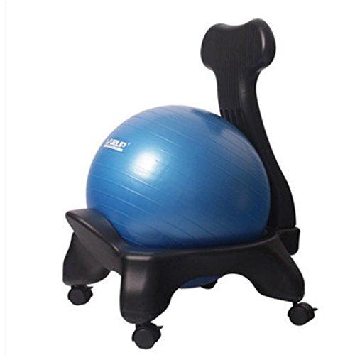 MIRAIS バランスボール チェア フルセット 鍛えられて 腰が張る 体幹を鍛える 簡単 エクササイズ イス オフ...