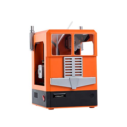 Winhotech stampante 3d CR-100, stampante 3D di piccole dimensioni, 241 x 183 x 255 mm, ideale per i bambini e gli appassionati di bricolage (arancione)