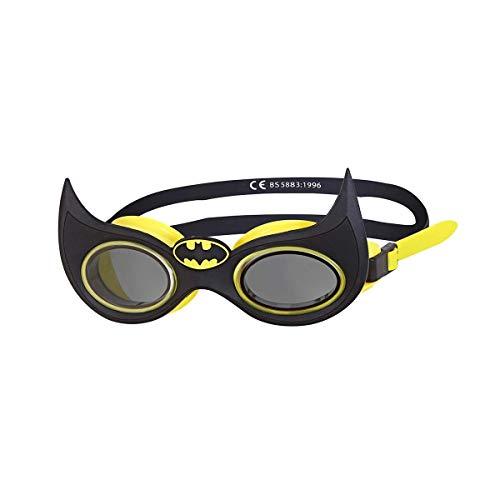 Zoggs Bambini Batman della Junior Character Goggle Occhialini da Nuoto, Black, One size
