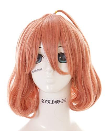 PL-308 Mirai Kuriyama Kyoukai no Kanata orange kurz Haar Harajuku Pastel Cosplay Perücke Wig Anime Manga