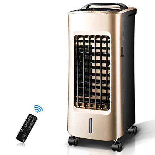KEYUAN NFS-20JR 4-in-1 Climatiseur Mobile Silencieux, Ventilateurs De Climatiseur Portables avec Fonction De Refroidissement De Chauffage, 3 Vitesses De Ventilation, Minuterie 12 Heures, Or