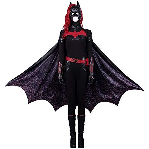 KILLM Traje De Halloween para Mujer Adulta Batman Cosplay Escenario Actuación Disfraz...