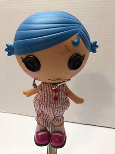 """Mu Lalaloopsy 7"""" Littles with Blue Hair Doll"""