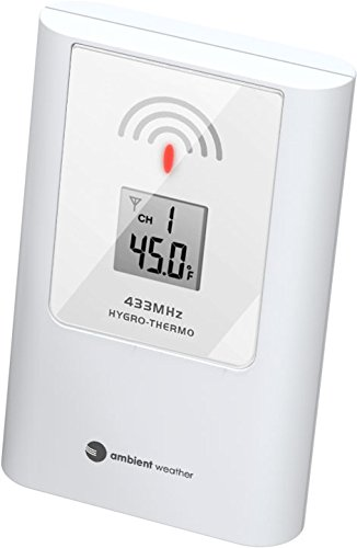 Ambient Weather TX-8340 Wireless Thermometer for WS-8600 Wireless Weather Station
