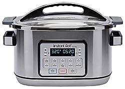 cheap Multi-functional and programmable multi-cooker instant pot AuraPro, sous vide, 8 l, no pressure …