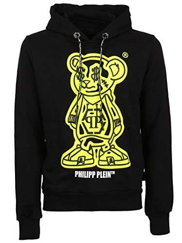 Philipp Plein Luxury Fashion Mens MJB1810PJO002N0209 Black Sweatshirt |