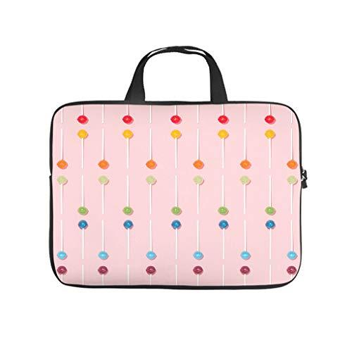 Multi-aromater lollipop laptop bag, scratch resistant, laptop protective bag, pattern notebook bag for university, work, business