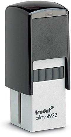 Trodat Printy 4922 Personalized Individual Custom Self Inking Stamp 13 16 Square product image