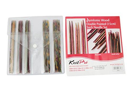 Knit Pro Nadelspiel-Set Socken 15 cm