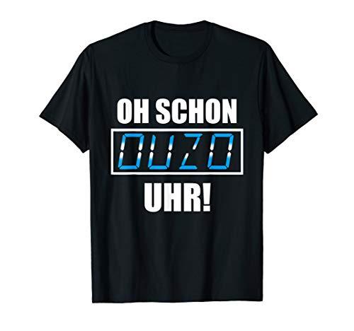 Griechenland Grieche Ouzo Schnaps Design T-Shirt