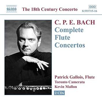 Bach, C.P.E.: Flute Concertos (Complete)