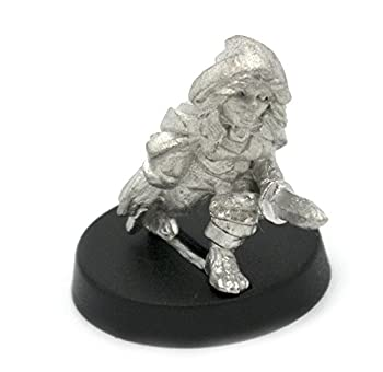 Stonehaven Halfling Rogue Miniature Figure  for 28mm Scale Table Top War Games  - Made in USA