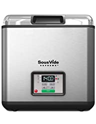 Sous Vide Supreme Review - Water Oven Model SVS10LS - see it on Amazon